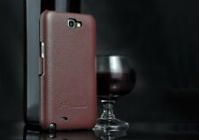 GENUINE PREMIUM LEATHER FASHION ULTRA SLIM THIN CASE FOR SAMSUNG GALAXY NOTE 2