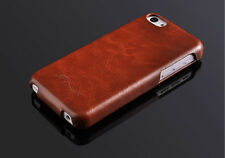 PREMIUM PU LEATHER FASHION ULTRA SLIM THIN CASE COVER FOR iPHONE 5C
