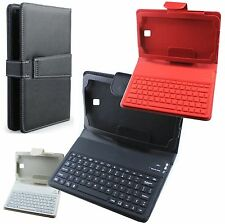 "LEATHER WIRELESS BLUETOOTH KEYBOARD CASE COVER FOR Samsung Galaxy Tab3 7"" P3200"