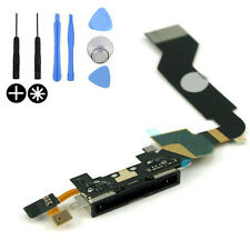 Replacement Charging Port Dock Connector Flex Cable Part Mic For Apple iPhone 4