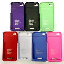 1900mAh iPhone 4 4s Portable Charger Case Charging External Battery Power Bank