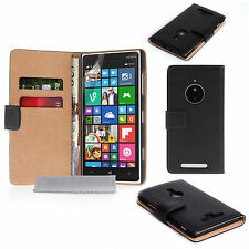 Accessories For Nokia Smartphones Real Genuine Leather Wallet Phone Case Cover