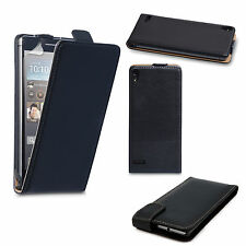 Accessories For Huawei Smartphones Real Genuine Leather Flip Phone Case Cover