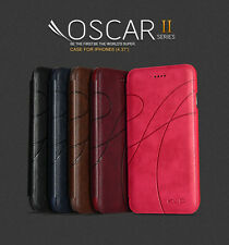 KLD OSCAR II 2 THIN FLIP LEATHER CASE COVER FOR IPHONE 6 4.7""