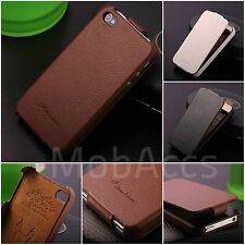 GENUINE PREMIUM LEATHER FASHION ULTRA SLIM THIN CASE FOR iPHONE 5C