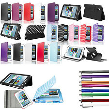 NEW Leather Smart Case Cover Stand for Samsung Galaxy Tab 2 P3100 P3110 7 INCH
