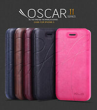 KLD OSCAR II 2 THIN FLIP LEATHER CASE COVER FOR IPHONE 5 5S