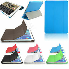 Slim Magnetic Smart Stand Folding Stylish Cover Leather Case for All Apple iPad