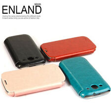 KLD ENLAND THIN FLIP LEATHER CASE COVER FOR SAMSUNG GALAXY S3 SIII i9300