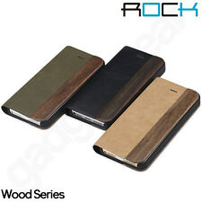 Genuine ROCK Wood Series Case and Stand for Apple iPhone 5 & 5S