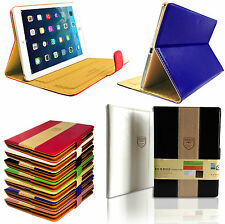 New Smart Stand Magnetic Leaxury Leather Case Flip Book Cover for All Apple iPad
