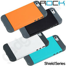Genuine ROCK Shield Series Protective Double Dip Rear Case for Apple iPhone 5S