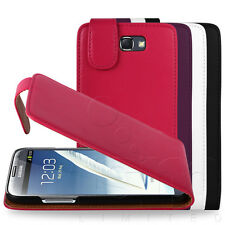 STYLISH PU LEATHER FLIP CASE FOR SAMSUNG GALAXY NOTE II 2 N7100 + SCREEN COVER