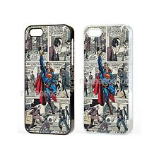 Marvel Superman Superhero Comic Case For iPhone iPod Samsung Galaxy Sony Xperia
