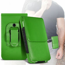 Soft PU Leather Pouch Belt Holster Case Cover For Apple Iphone 4