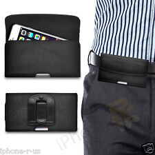 Horizontal PU Small Leather Pouch Belt Clip Case For Apple Iphone 4s