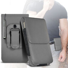 PU Leather Pouch Belt Holster Case & Stylus Pen For Apple Iphone 4