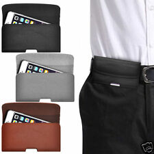 Horizontal PU Leather Pouch Belt Clip Case For HTC Velocity 4G Vodafone