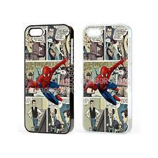 Marvel Spiderman hero Comic Case For iPhone iPod Samsung Galaxy Sony Xperia