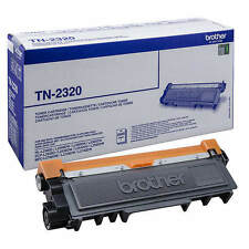 GENUINE BROTHER TN-2320 / TN2320 BLACK HIGH CAPACITY LASER TONER CARTRIDGE