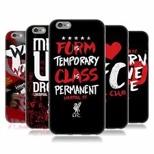 OFFICIAL LIVERPOOL FC LFC LFC REDMEN SOFT GEL CASE FOR APPLE iPHONE PHONES