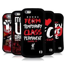 OFFICIAL LIVERPOOL FC LFC LFC REDMEN HYBRID CASE FOR APPLE iPHONE PHONES