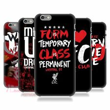 OFFICIAL LIVERPOOL FC LFC LFC REDMEN HARD BACK CASE FOR APPLE iPHONE PHONES