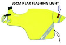 Harry Hall Hi Viz Ride on Exercise Reflective Sheet REAR FLASHING LIGHT ALL SIZE