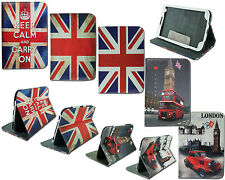 """NEW UNION JACK PRINT CASE FOR SAMSUNG GALAXY TAB 3 8"""" TABLET LEATHER COVER T310"""