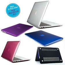 Plastic Crystal Hard Skin Cover Case for Apple MacBook Air / Pro Retin