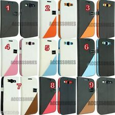 For Samsung Galaxy S3 SIII I9300 Leather Case Cover Flip Pouch Back Bo