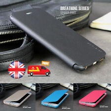 SLIM! Genuine PU Leather Flip Case Wallet Cover For Apple iPhone 5 5S