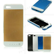 External Portable Battery Power Bank Backup Charger Case Cover For iPh