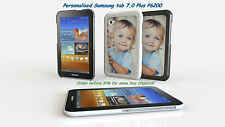 PERSONALISED CUSTOM PRINTED CASE COVER FOR SAMSUNG GALAXY TAB 7.0 PLUS