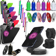 Apple iPhone 6  - Pack of 5 - Flip Case Cover +Charger +Cable +Holder+