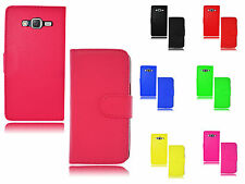 New Magnetic Wallet Flip Book Holder Leather Pu Case Cover For Samsung Galaxy J7