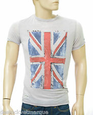 PEPE JEANS LONDON Tee shirt Drapeau homme Forster Grey Marl taille S