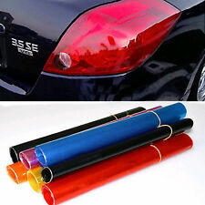 1Pcs Auto Car Smoke Fog Light Headlight Taillight Tint Vinyl Film Sheet Sticker