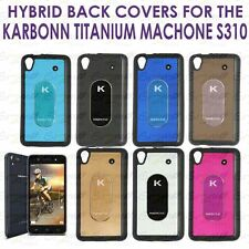 Designer Hybrid Back Cover Case For Karbonn Titanium MACHONE S310