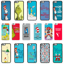 Cat in The Hat cover case for Apple iPhone - T49