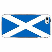 Scottish Flag Phone Case Hard Cover (Fits Iphone 4 4s 5c 5 5s 6 6+)  S