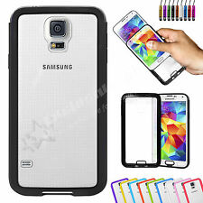 Clear Hard Back Silicone TPU Gel Bumper Cover Case For Samsung Galaxy