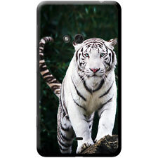 White Tigers Hard Case For Nokia Phone Models