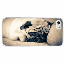 Beautiful Pug Phone Case Hard Cover (Fits Iphone 4 4s 5c 5 5s 6 6+)
