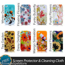 TPU Soft Case Cover For Apple iPhone 4 4S 5 + Free Screen Protector &