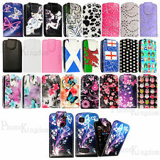 Hot Selling Flip Printed Leather Case Cover Pouch For Nokia Asha Mobil