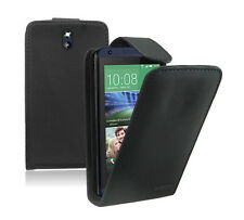 Leather Flip Case Cover Pouch Saver For Mobile Phone HTC Desire 610