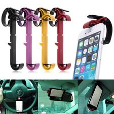 Universal Car Steering Wheel Clip Mount Holder For Samsung iPhone Phon