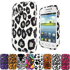 STYLISH PRINTED TPU GEL CASE COVER FOR SAMSUNG GALAXY YOUNG S6310