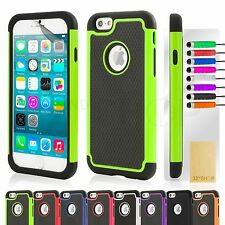 SHOCK PROOF CASE COVER FOR APPLE iPhone 6 (4.7) PLUS (5.5)+ SCREEN PRO